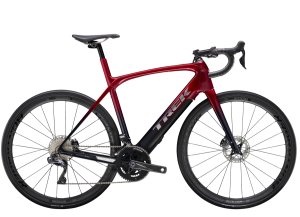 Trek Domane+ LT 7 62 Rage Red to Deep Dark Blue Fade